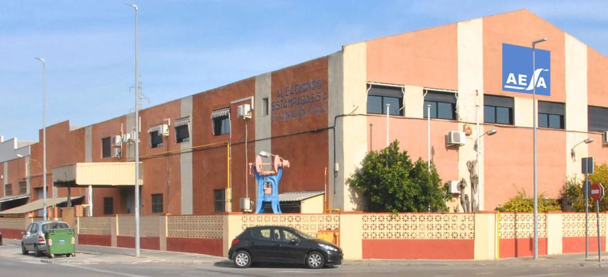 Fábrica de Aleaciones Estampadas S.A. - AESA en Catarroja - Valencia