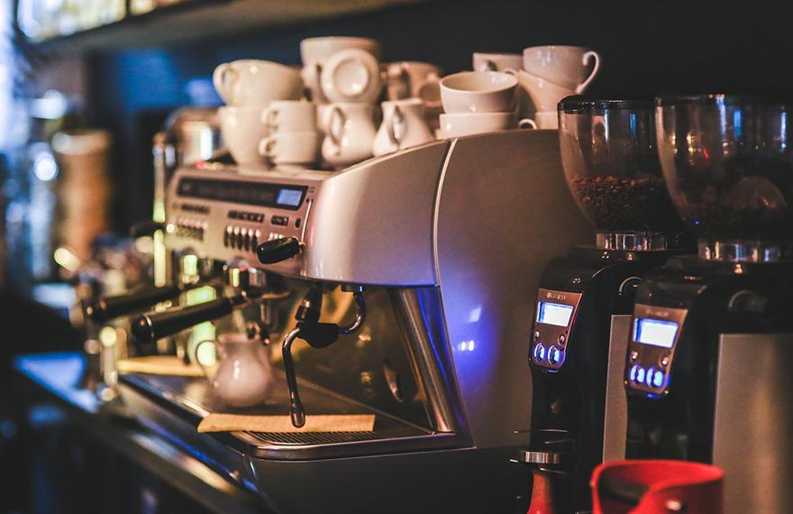 Componente máquina de café forjado en aluminio