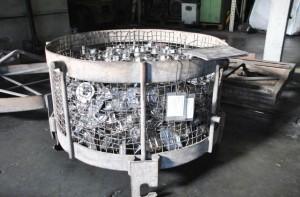 Tratamiento térmico T6 para piezas forjadas en aluminio AESA