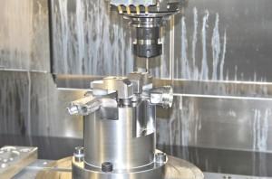 Mecanizado CNC 3 ejes AESA Forja Aluminio