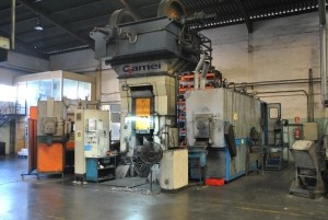 forging presses up to 1200Tn