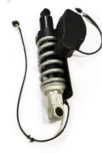 Pieza de suspensión para motocicleta forjada en aluminio