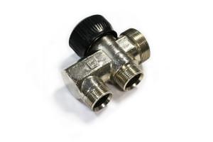 Válvula para gases y líquidos forjada en latón