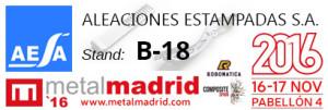 AESA en METALMADRID 2017 Forja de Aluminio