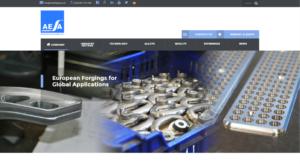Nueva Web de AESA aesaforging.com para exportación forja de aluminio