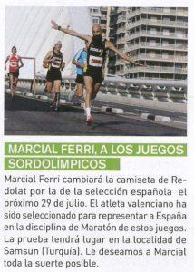 Marcial Running AESA
