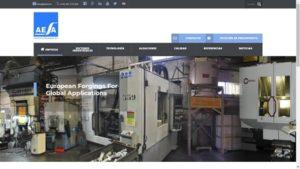 Web forja y mecanizado aleaciones ligeras AESA