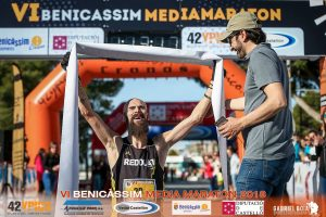 Marcial Ferri Ganador Media Maratón Benicassim 2018