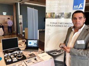 Stand de AESA en la Feria de la Innovación_AVIA