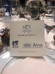 AESA en la Noche del Motor de la CV_AVIA_2018_10