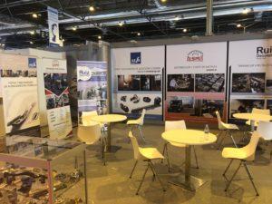 Stand de AESA en la Feria MetalMadrid 2018_1