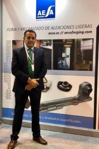 Stand de AESA en la Feria MetalMadrid 2018_8