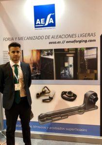 Stand de AESA en la Feria MetalMadrid 2018_9