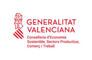 Logo Conselleria de Economía sostenible, sectores productivos, comercio y trabajo