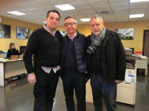 Visita Ferran Garrido a AESA