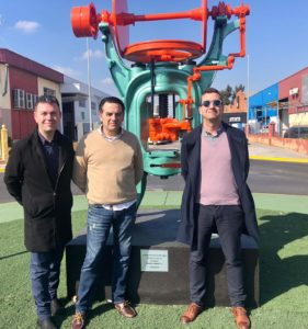 Visita Alcalde y concejal de Catarroja a AESA