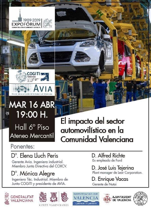 Impacto Automoción en Valencia AVIA