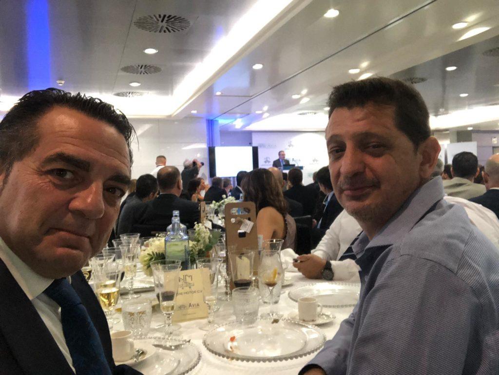 AESA en la Noche del Motor de la CV_AVIA_2019 con otros empresarios