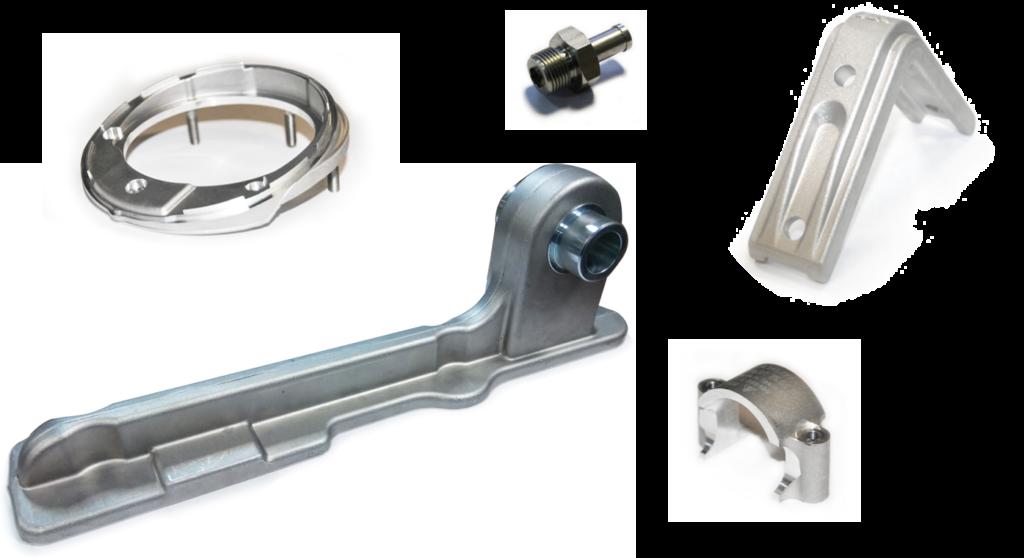 Piezas de Forja de Aluminio para Automoción