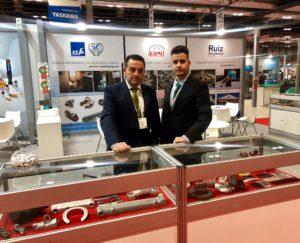 Stand de AESA en MetalMadrid 2019_Forja aleaciones ligeras