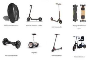 Vehículos movilidad urbana Web