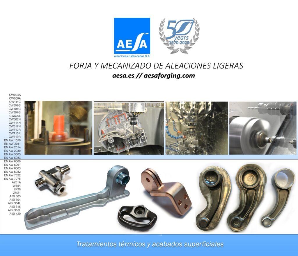 Lona Stand AESA en Feria MetalMadrid 2020