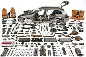 Despiece automóvil piezas forjadas aluminio_AESA